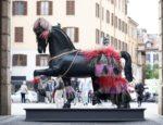 Leonardo Horse Project-cavalli in città