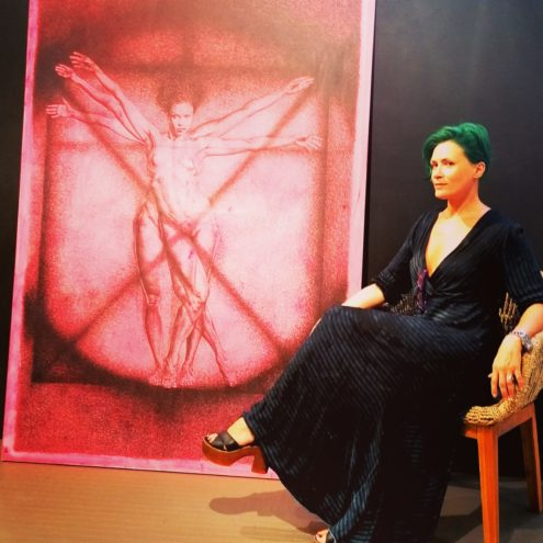 Adele Ceraudo e La Donna Vitruviana